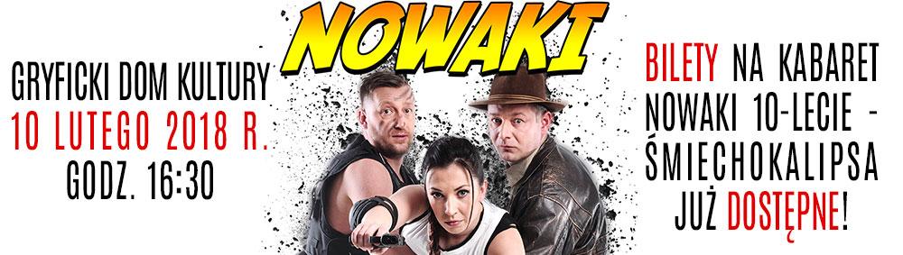 Kabaret Nowaki 10-lecie – Śmiechokalipsa 10 lutego 2018 r.